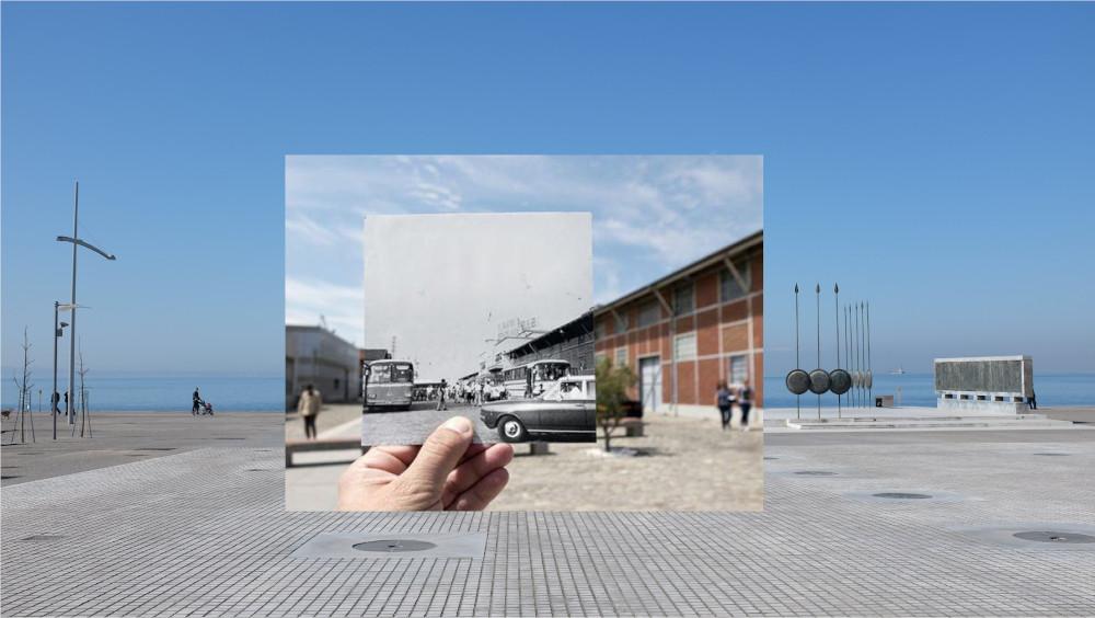 Φωτο-Ξεναγhσεις στο Μουσεiο Κινηματογρaφου Θεσσαλονiκης - Διεθνhς Ημeρα Μουσεiων 2016 / The monument of Alexander the Great, Evangelos Moustakas, 1974 (c. Pierre Sintès)