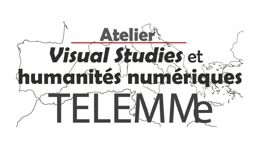Logo Atelier Visual studies et humanités numériques de TELEMMe