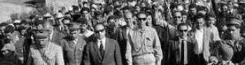 Première visite de Première visite de Krim Belkacem et Boudiaf en Kabylie en juin 1962