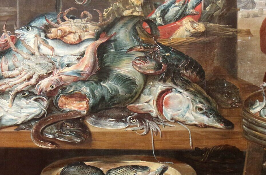 La poissonnerie, Frans Snyders or Snijders, 1625