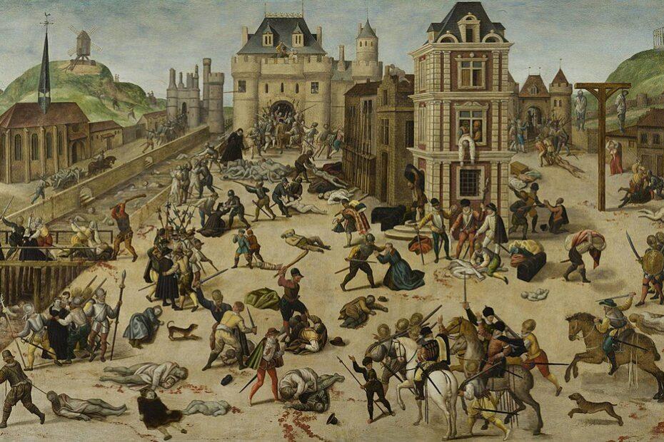 Le Massacre de la Saint-Barthélemy de François Dubois, musée cantonal des Beaux-Arts de Lausanne.
