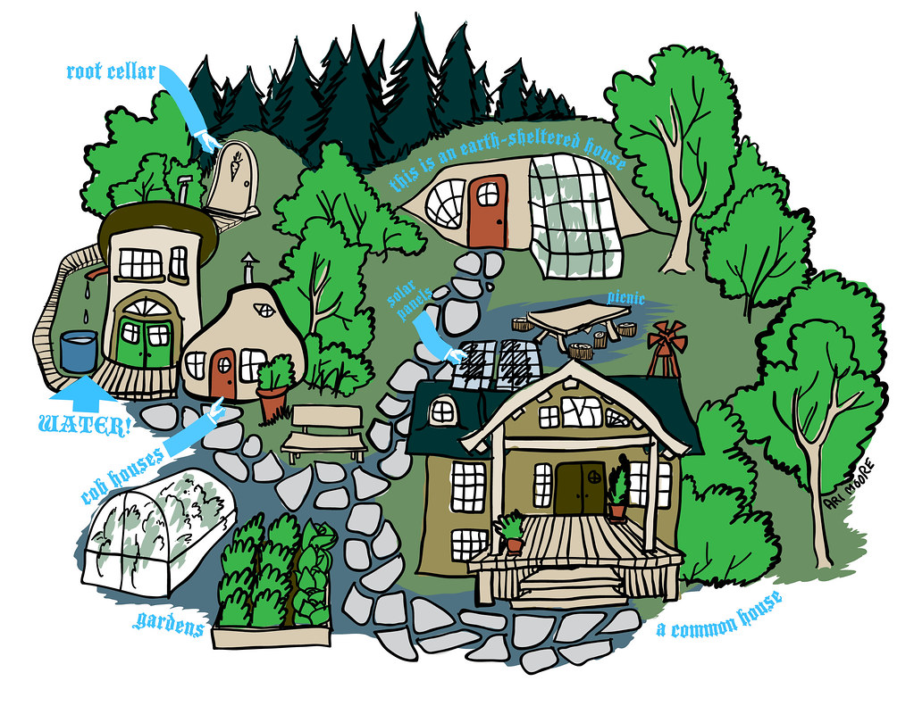 Image d'illustration : « a community can look like this (color version) », par Ari Evergreen, licence CC BY-NCSA 2.0