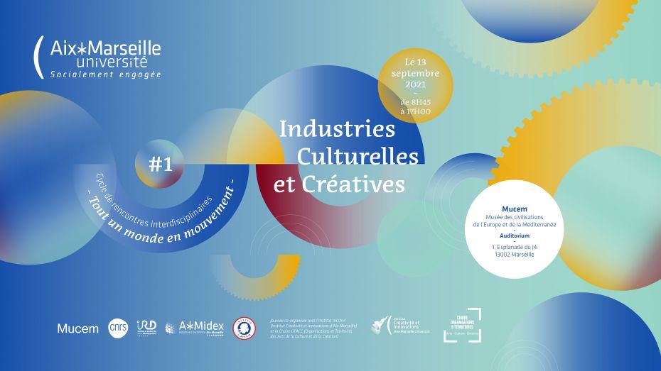 Visuel du cycle Industries Culturelles et Créatives - Immersions narratives, AMU