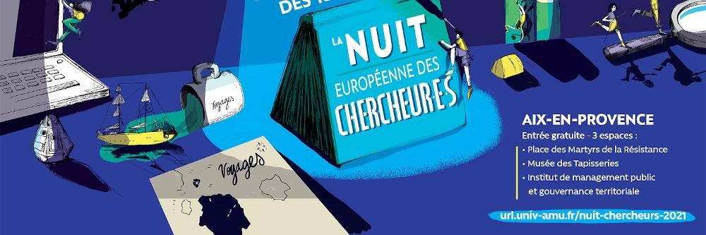 Visuel Nuit européenne des chercheur·e·s